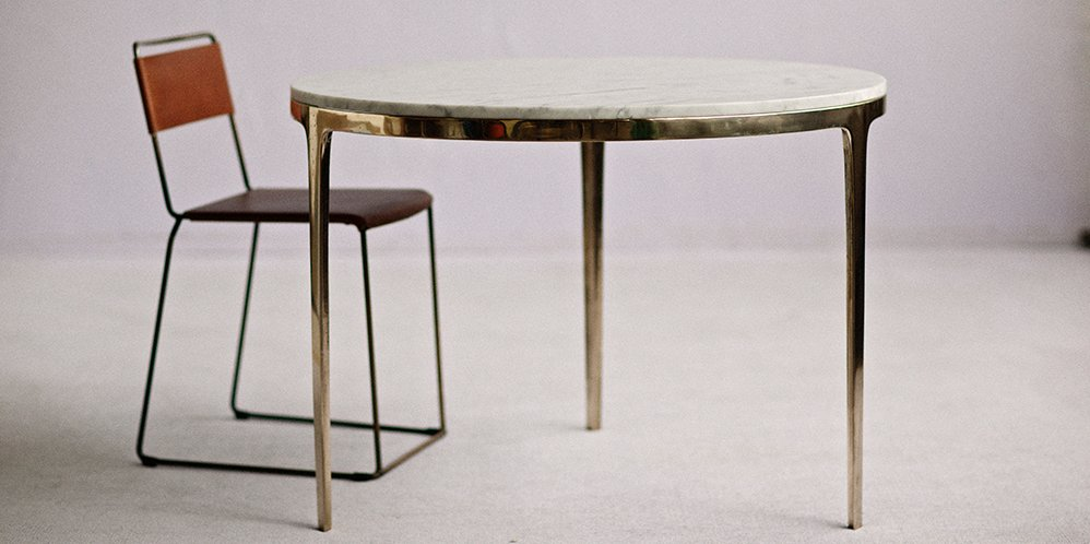 Gallery Of Bronze Dining Table By Barbera Local Australian Furniture, Lighting & Object Design Melbourne, Vic Image 7