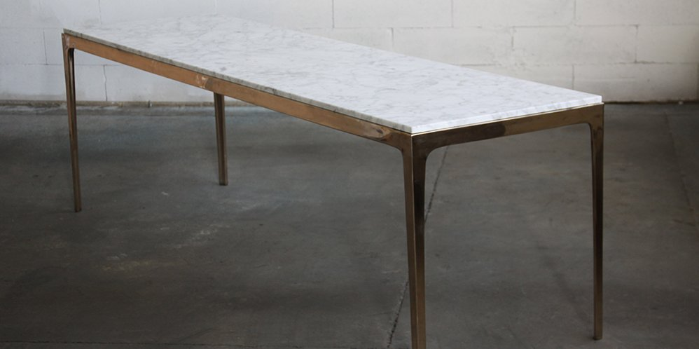 Gallery Of Bronze Dining Table By Barbera Local Australian Furniture, Lighting & Object Design Melbourne, Vic Image 9