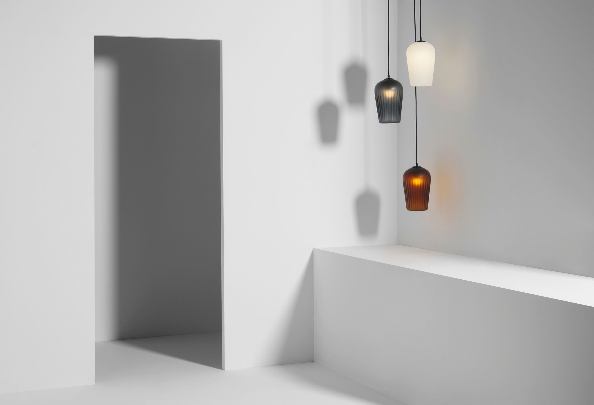 Locally designed lighting and furniture by Luke Mills of LUMIL