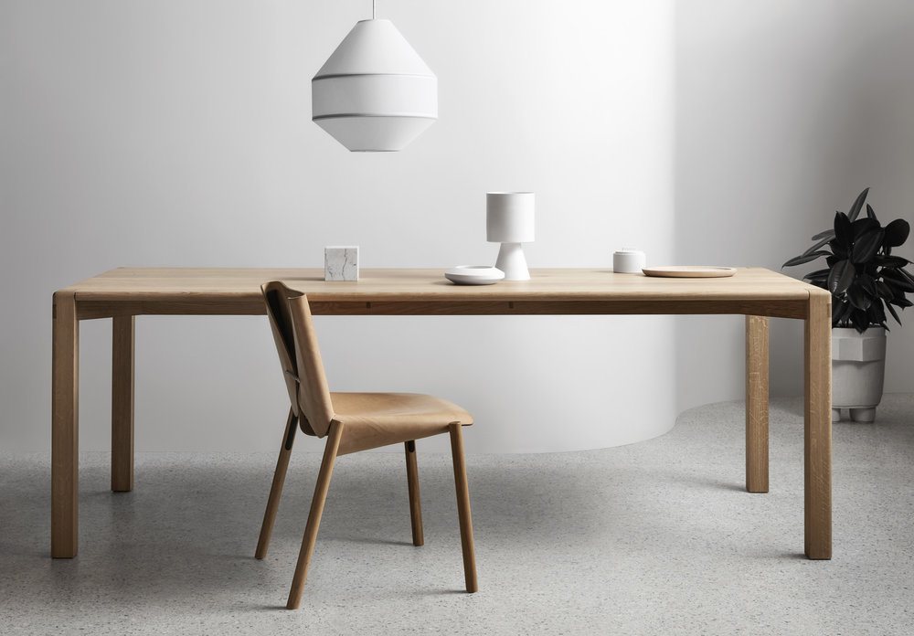 Nicholas, and the Made by Morgen team understand that all design needs are unique so this dining table is completely customisable according to materials, dimensions and finish.
