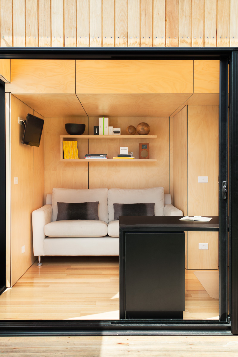 Gallery Of Backyard Room By Archiblox Local Australian Modular Architecture Blackburn, Vic Image 2