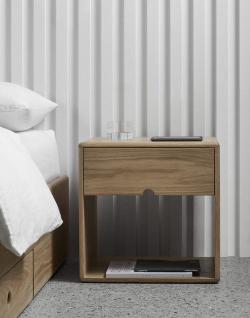 The LIL is another addition to Made by Morgen's impressive collection of Scandinavian and Danish-inspired bespoke furniture for the modern day bedroom space.
