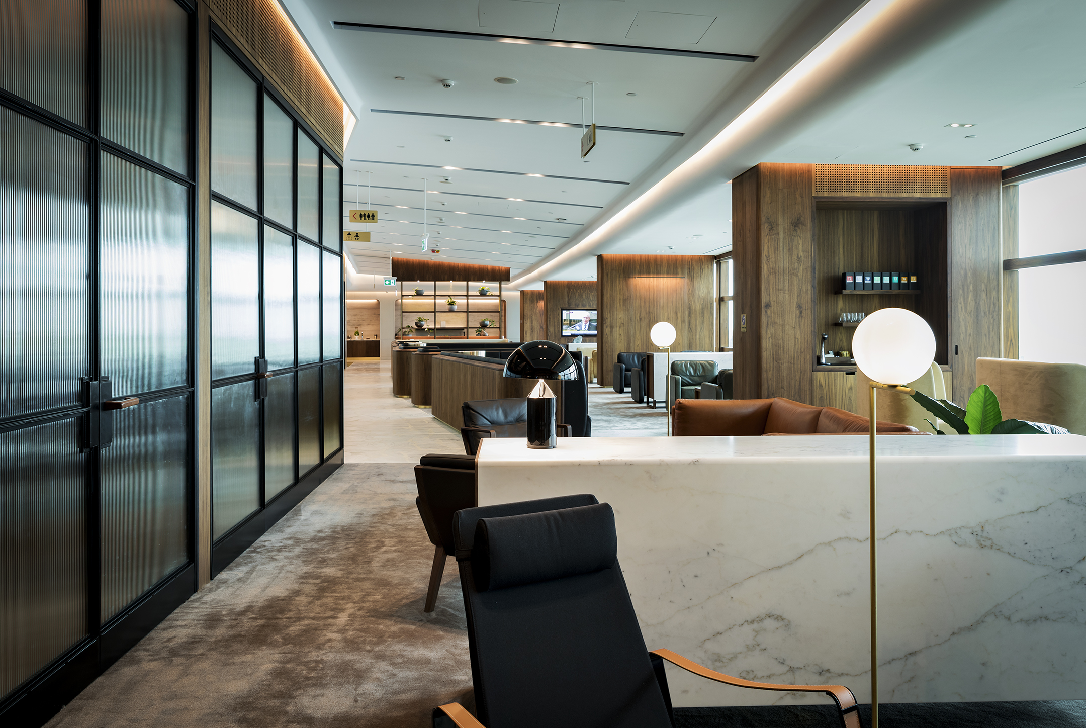 Gallery Of Qantas Chairman's Lounge By Tirar Local Australian Architecture & Timber Design Sydney, Nsw Image 7