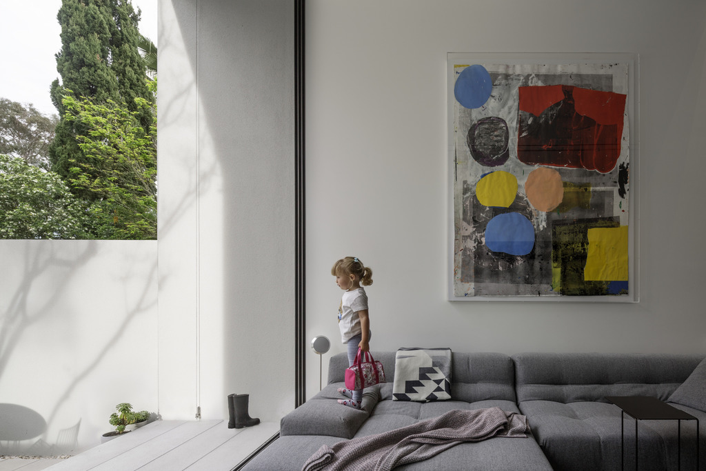 Gallery Of The Two Wall House By Woods Bagot Local Australian Interior Design & Bespoke Architecture Lilyfield, Sydney Image 18