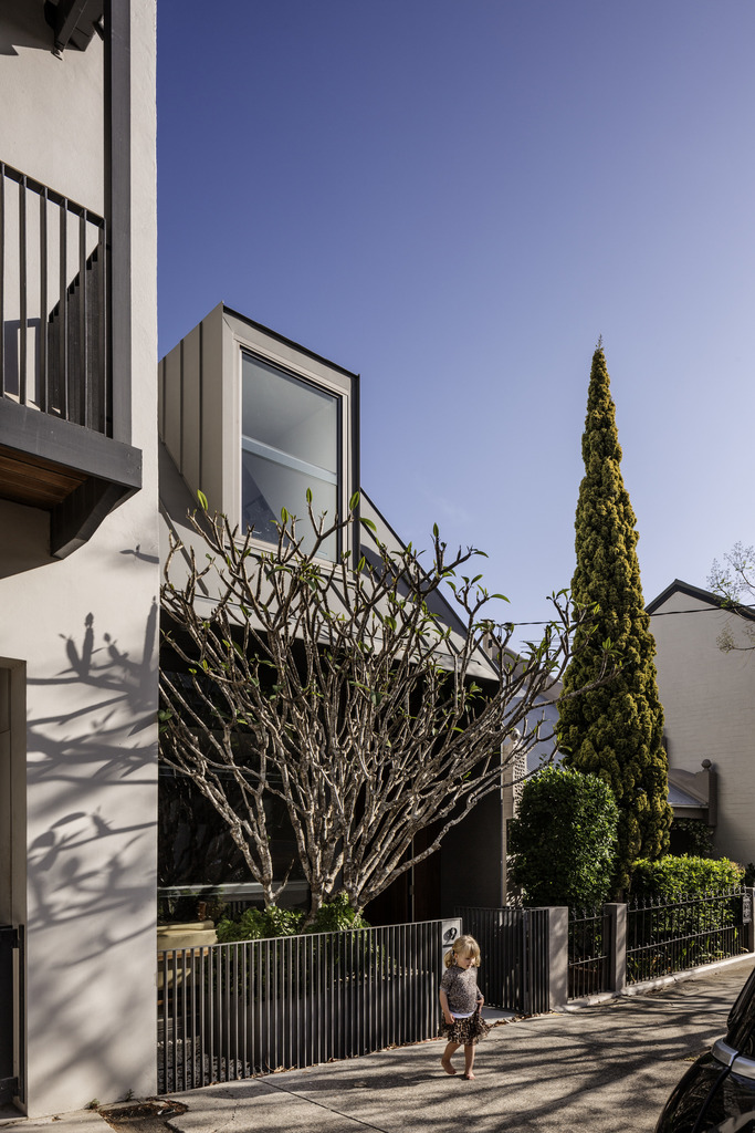Gallery Of The Two Wall House By Woods Bagot Local Australian Interior Residential Award Winning Architecture Lilyfield, Sydney Image 22