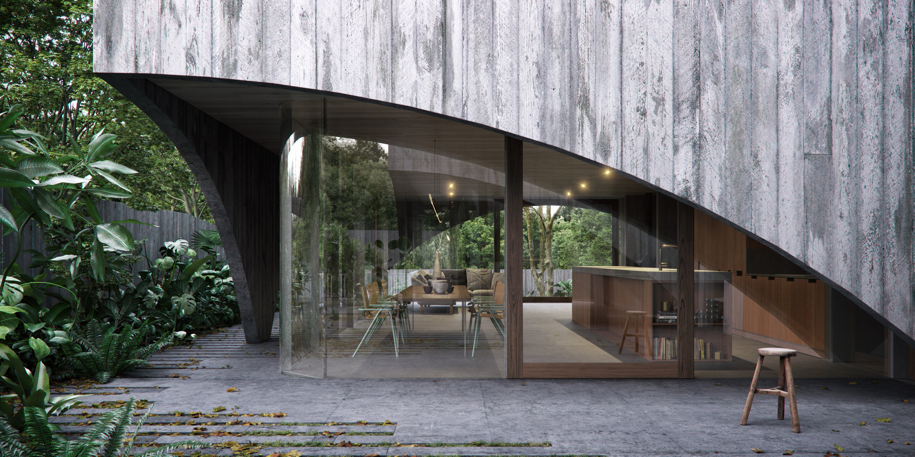 Hawthorn House By Edition Office Renders Local Australian Architecture And Design Melbournev02