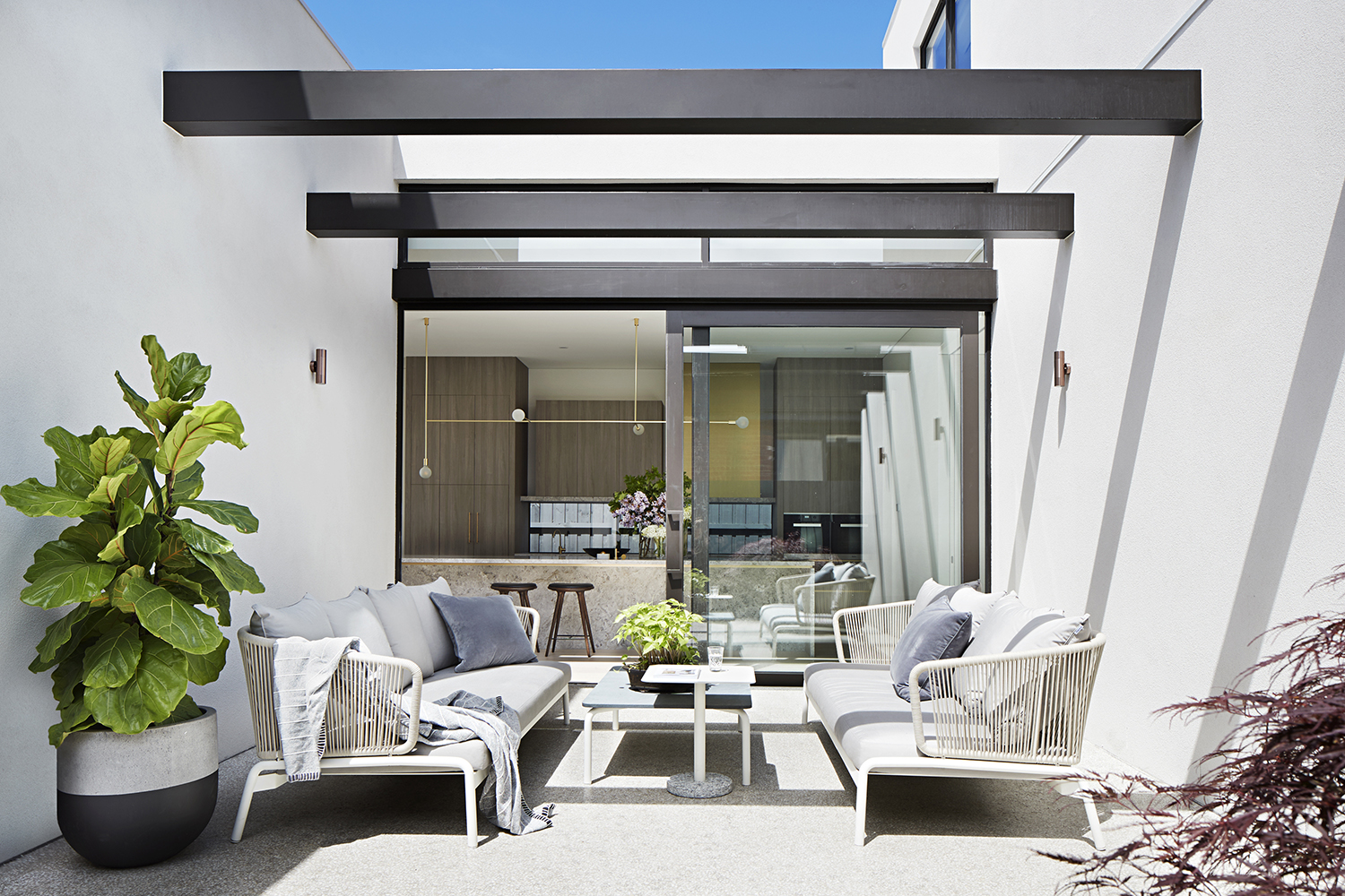 The Concrete Conceal House By Tecture Local Australian Design & Interiors Caulfield, Melbourne Image 9