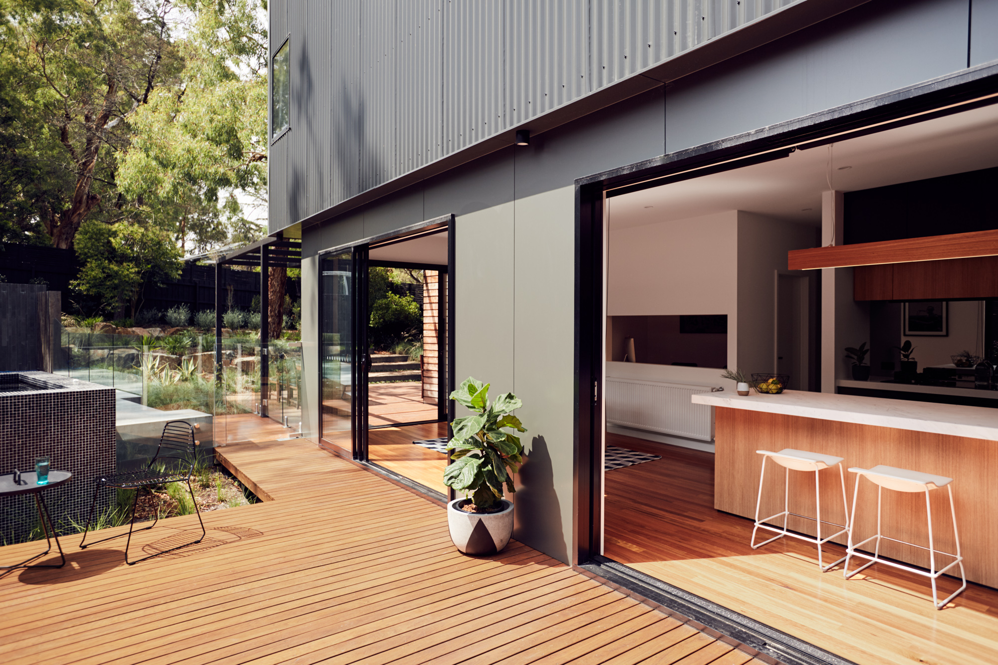 Gallery Of Blackburn House By Archiblox Local Australian Modular Architecture & Interiors Blackburn, Vic Image 7