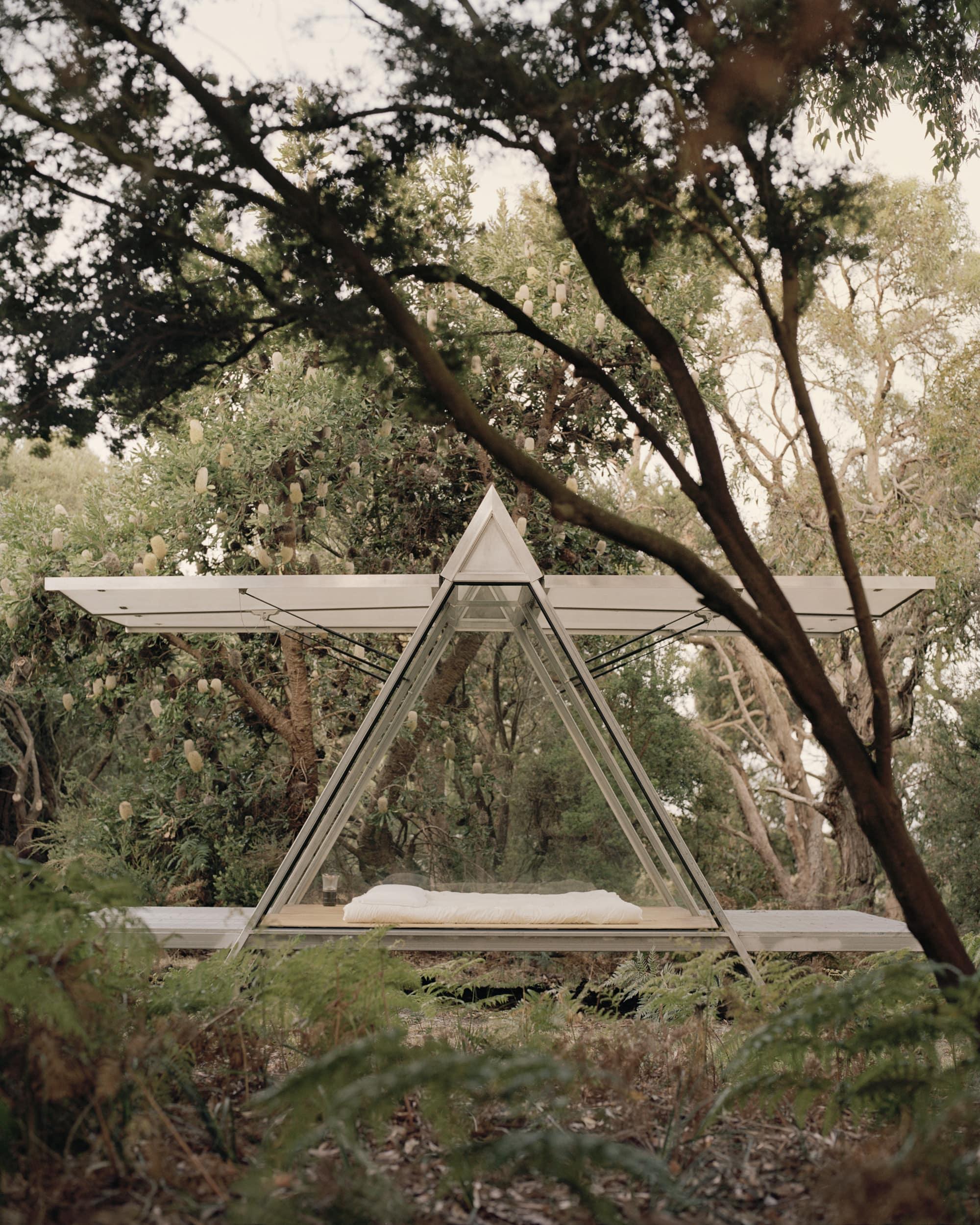 Bush Camp 1 by Richard Stampton Architects - Architecture - Australia