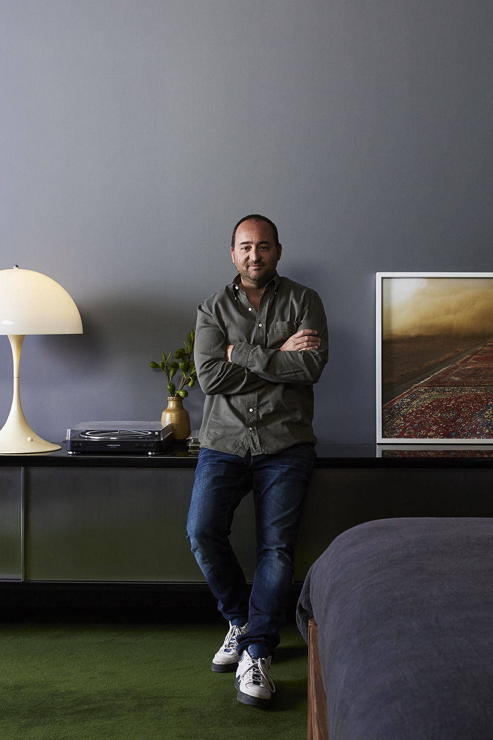 ustralia's love affair with Scandinavian design owes a lot to Great Dane and founder Anton Assaad, who in turn credits his passion for the design to his grandfather, a scientist who crafted his first piece of furniture at the age of twelve.