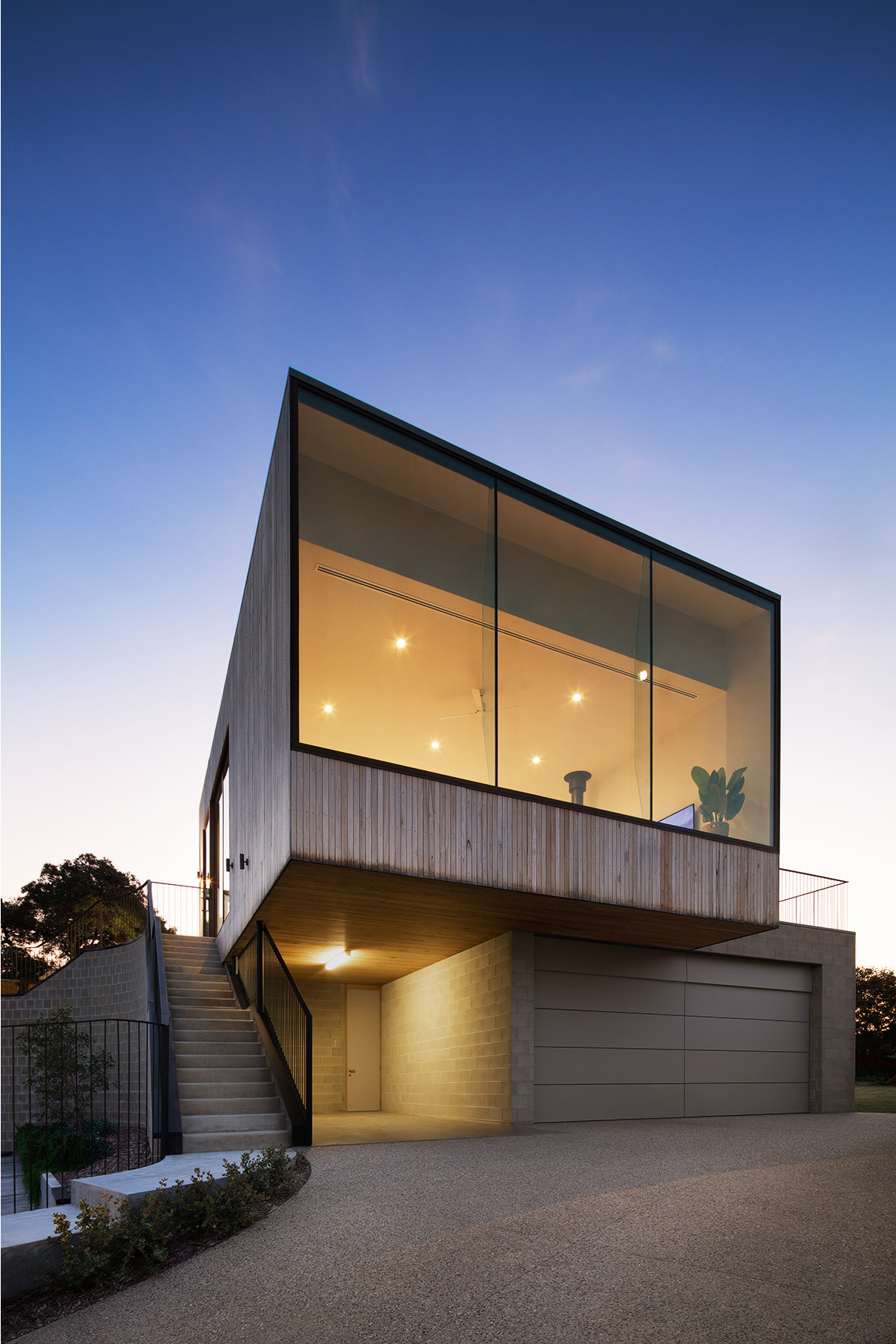 The Architects Were Sensitive And Respectful To The Clients Initial Brief.