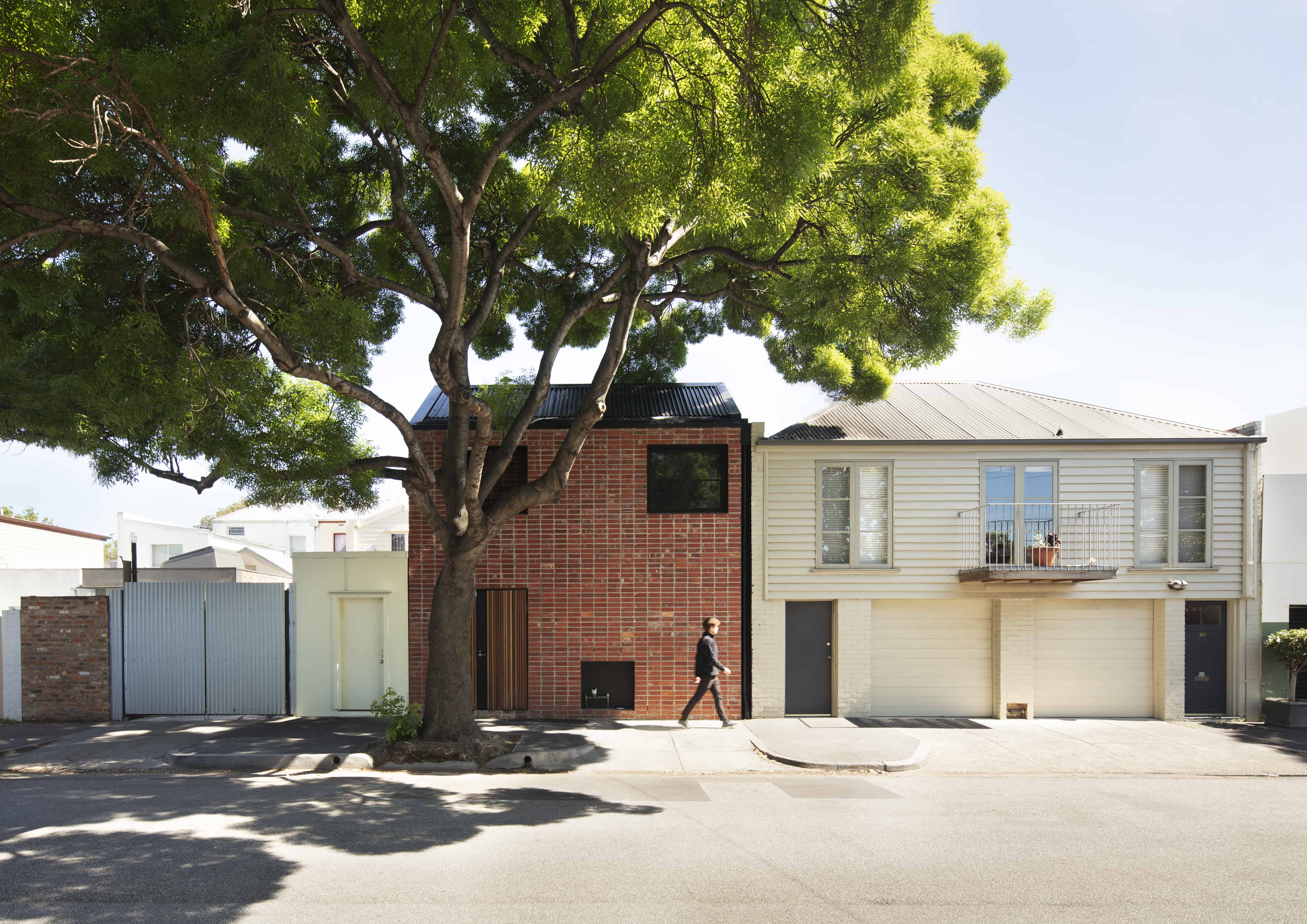 Brick And Gable House Breathe Architecture Melbourne