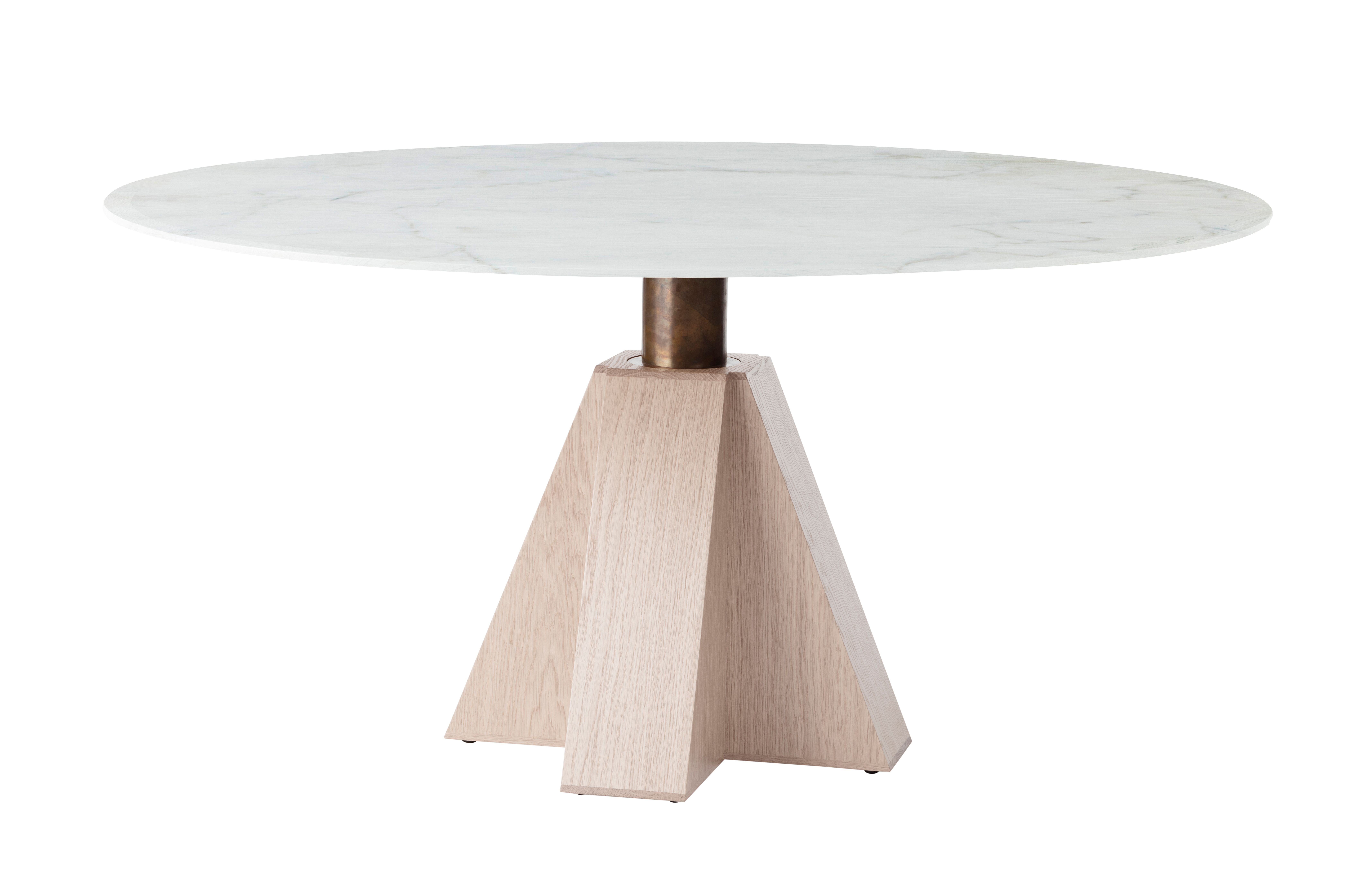 M Timber Dining Table By Daniel Boddam