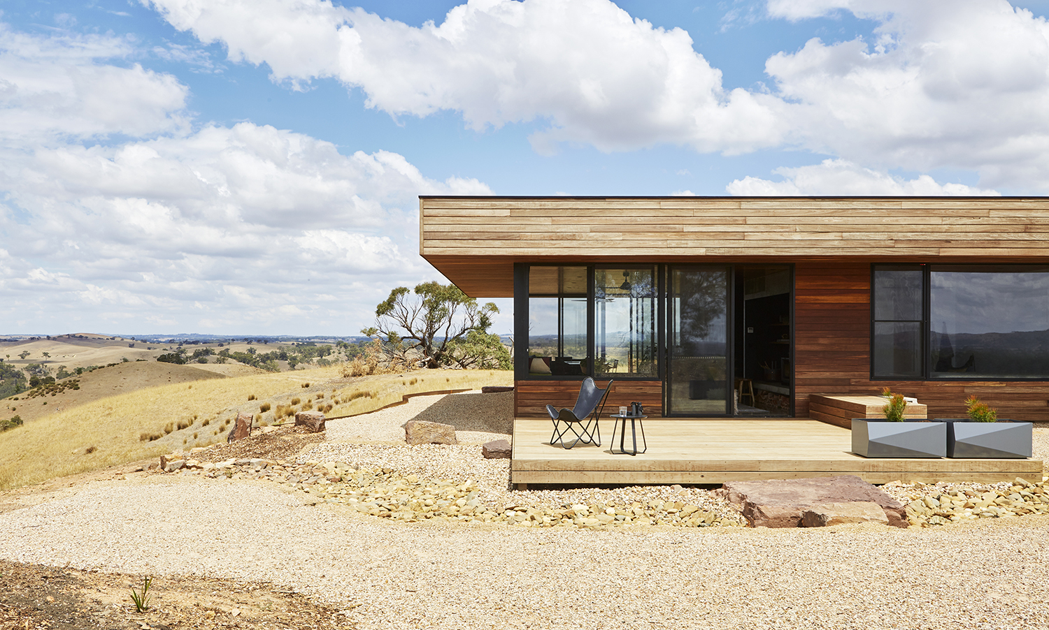 3 @bencalleryarchitect About The Elemental House, An Off Grid Rural Idyll Set High On A Ridge Overlooking The Plains, Valleys And Mountains Of North Central Victoria