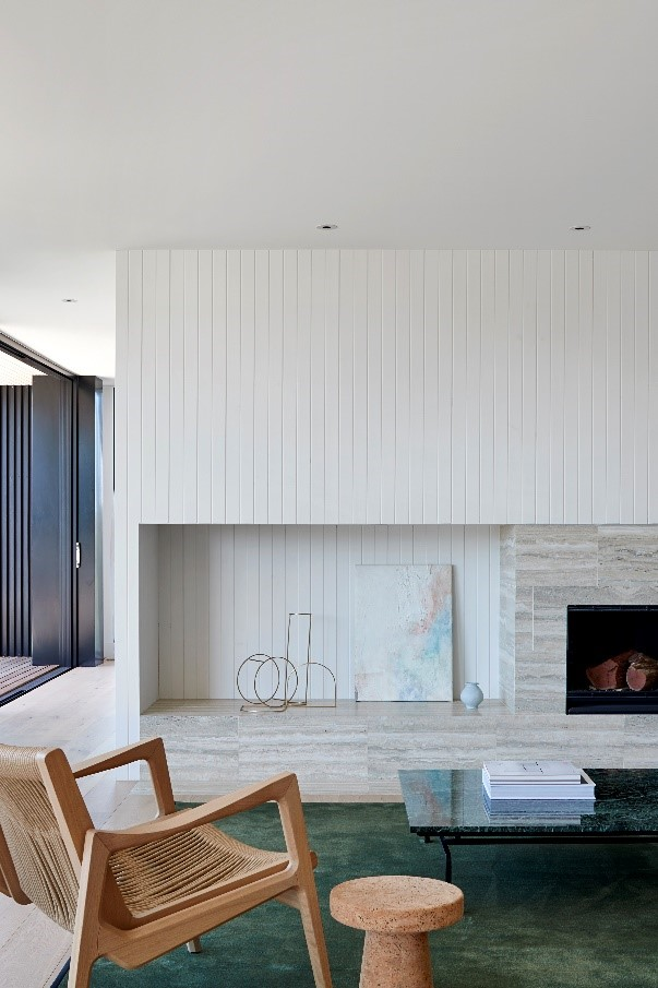 Bernie's Beach House By Interior Design Studio Sally Caroline Is The Architectural Embodiment Of A Relaxed