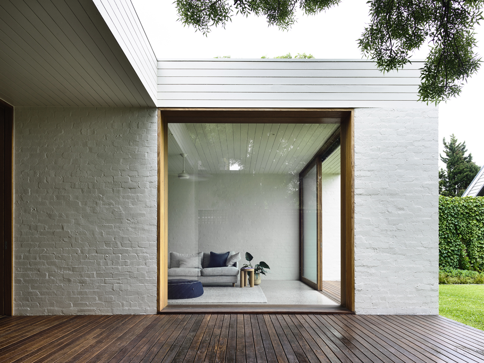 Brighton House Sees A Series Of Open, Light Filled North Facing Spaces, And Also Precise
