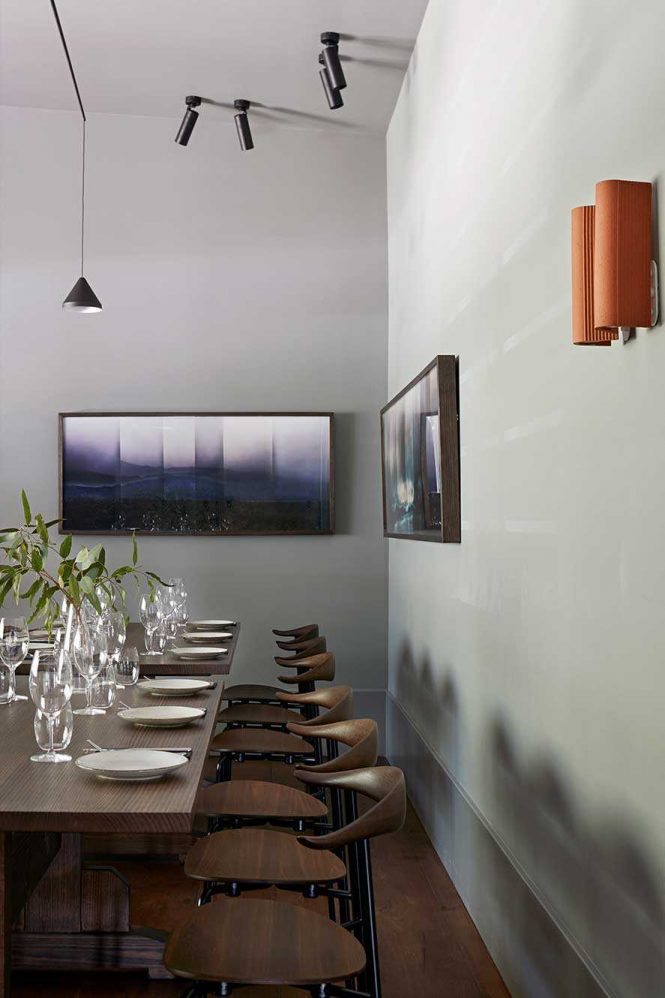 Objects And Furniture Were Placed Within The Restaurant