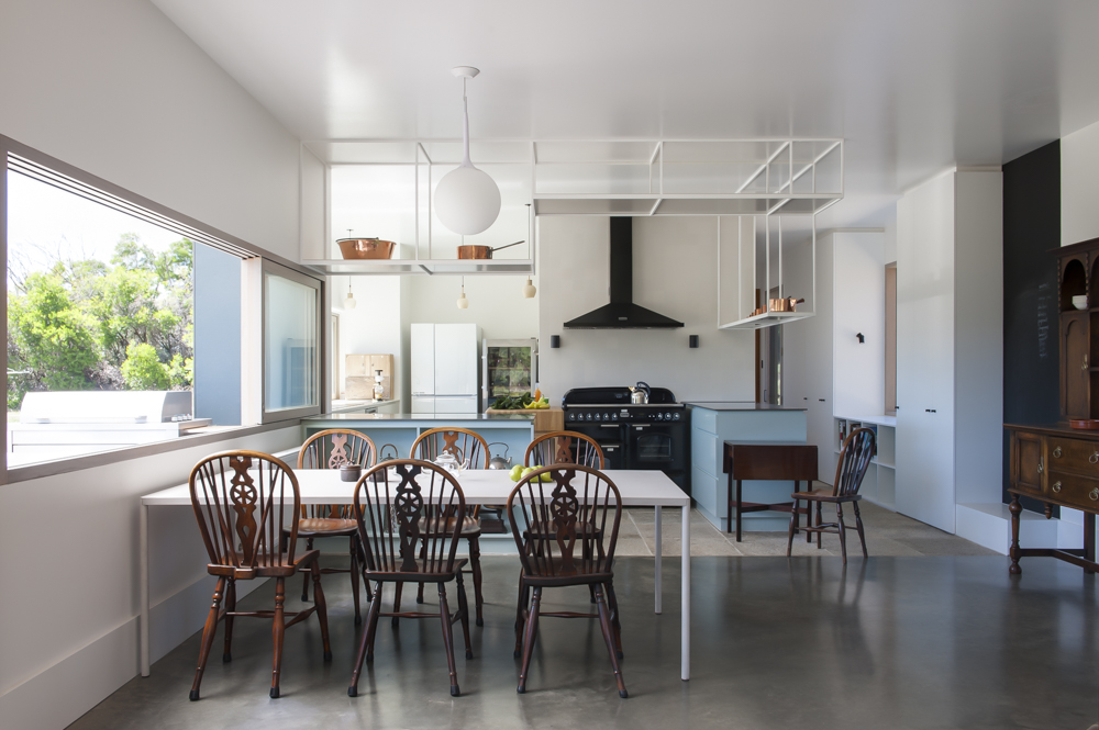 The Design Of The House Is To Replicate The Experience Of The Site.