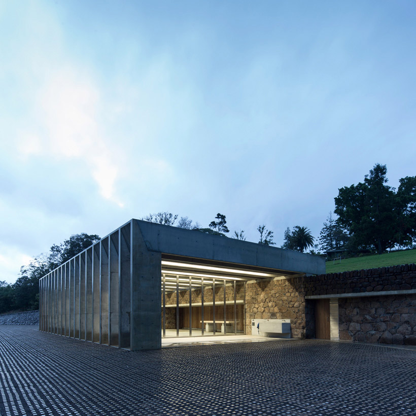 """Described By John Choi, Founding Partner Of Chrofi Architects, As """"ruins In The Landscape""""."""
