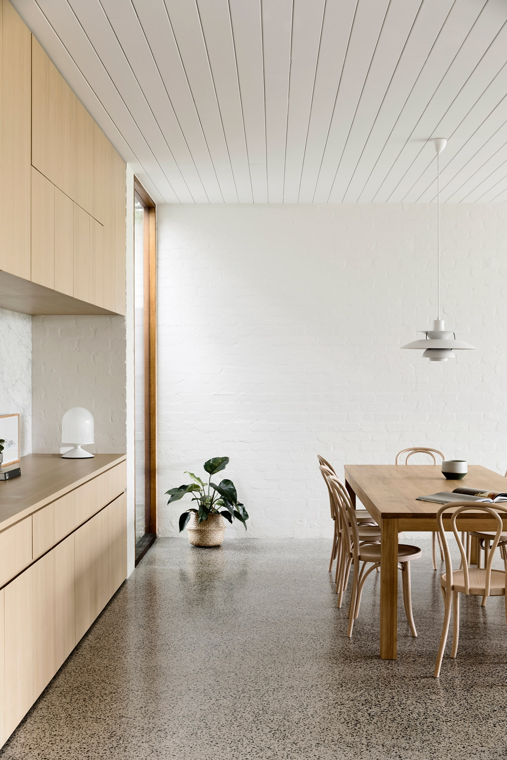 Fusing A Traditional Palette And Creating Spaces Of Controlled Openness And Retreat.