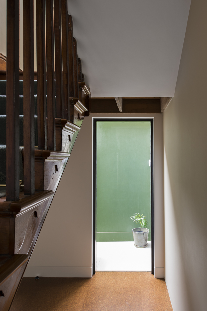 Glass Balusters Capture And Hold The Light Like A Candle,