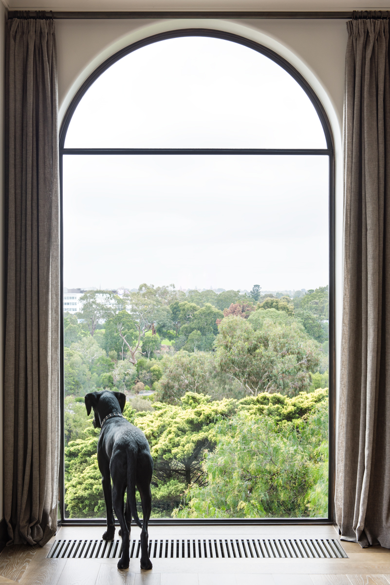 Charlie In Residence At His Blairgowrie Home, Designed By Sjb Melbourne.