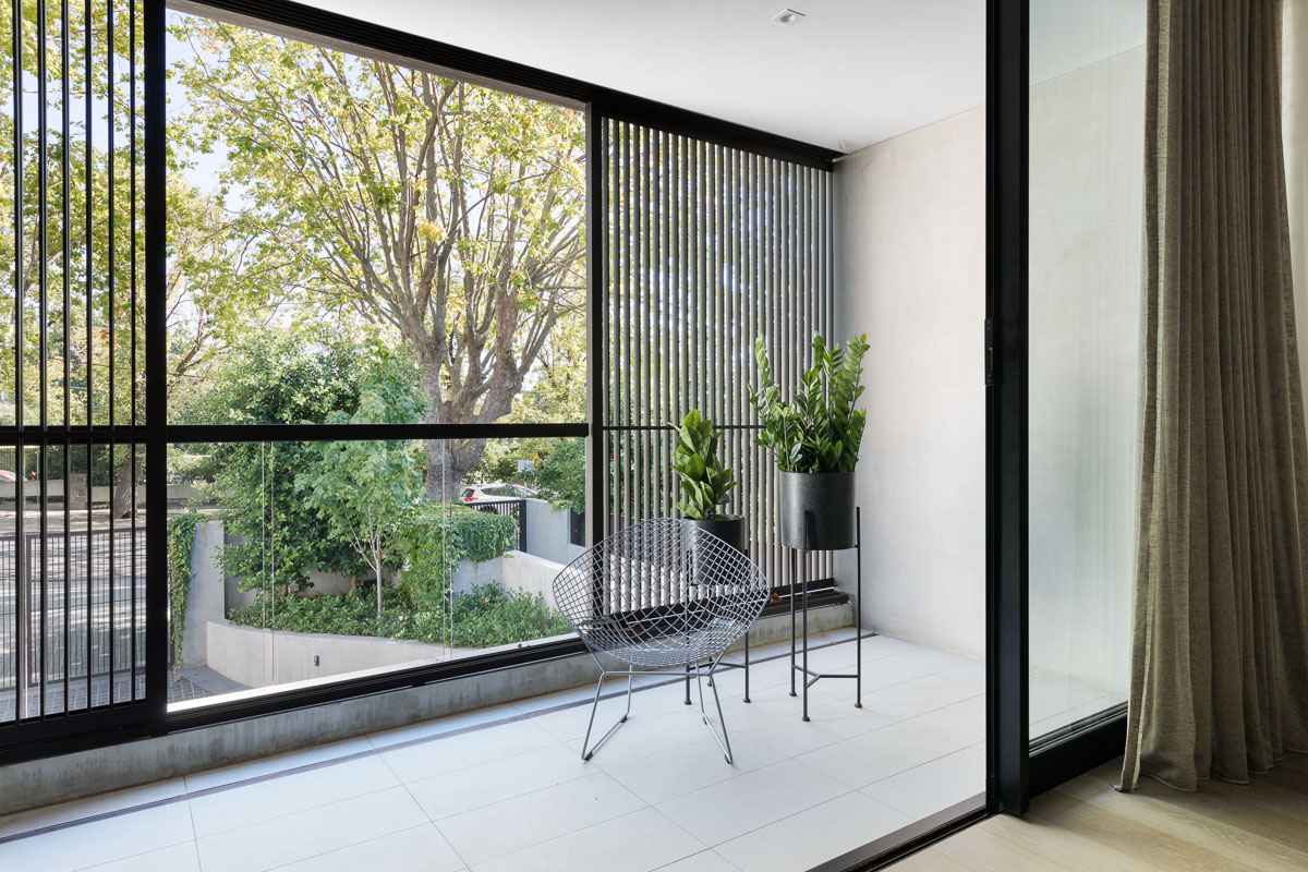 Velvet And Glass Were Carried Throughout The Home To Create Continuity And Flow