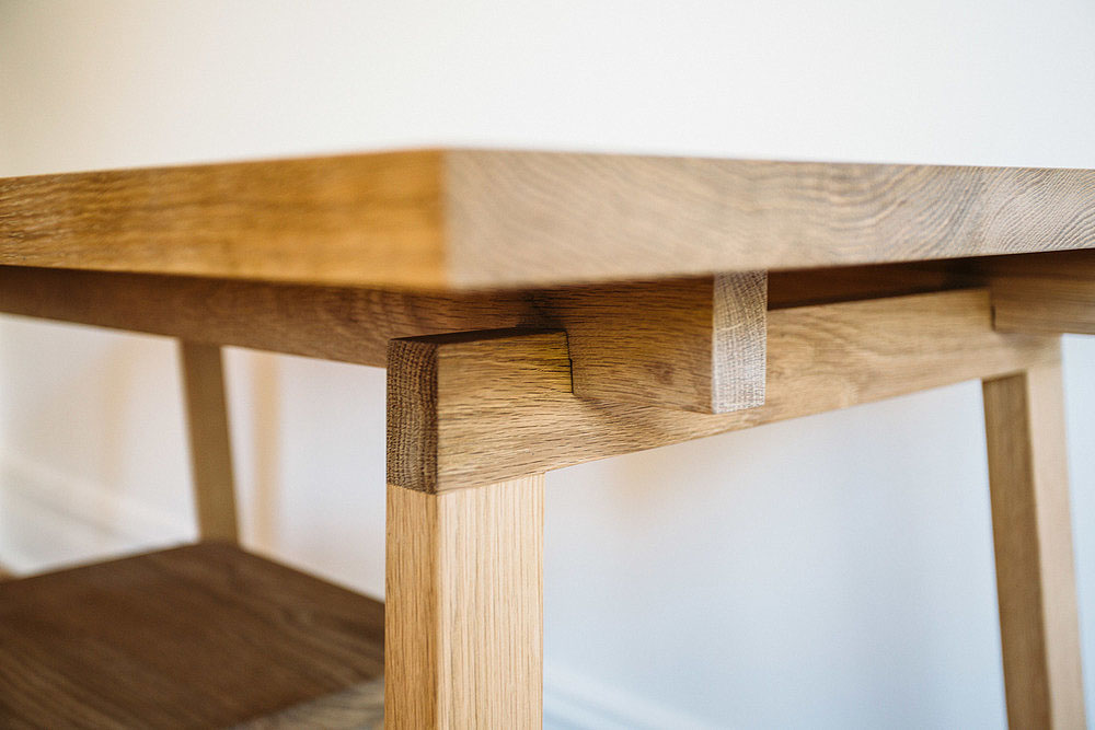 Wooden Stoke Desk American Oak Timber Tables The Local Project Feature  Custom Made Tables In Your
