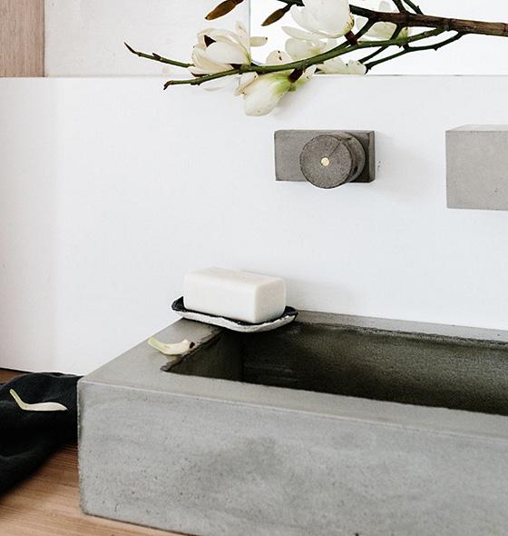 Bathroom Sinks Brisbane avaa - concrete bathroom shower tap fittings & fixture designs - tlp