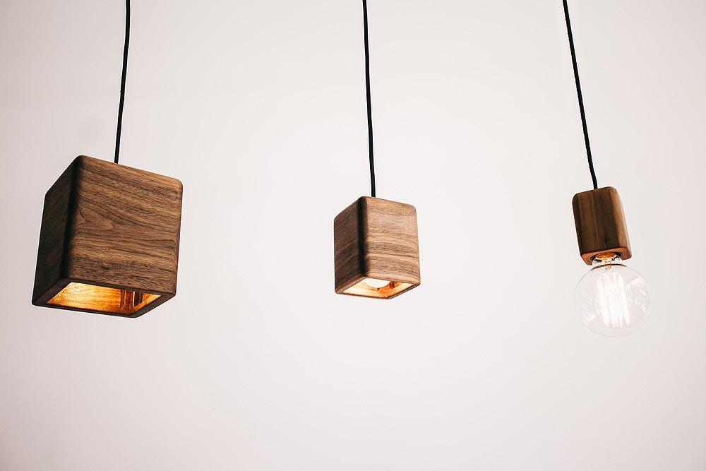 bodhi pendant lights sustainable wooden feature lighting