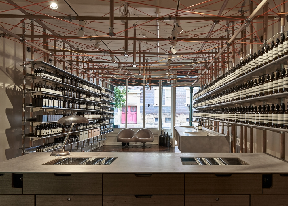Aesop The Rocks Designed By March Studio
