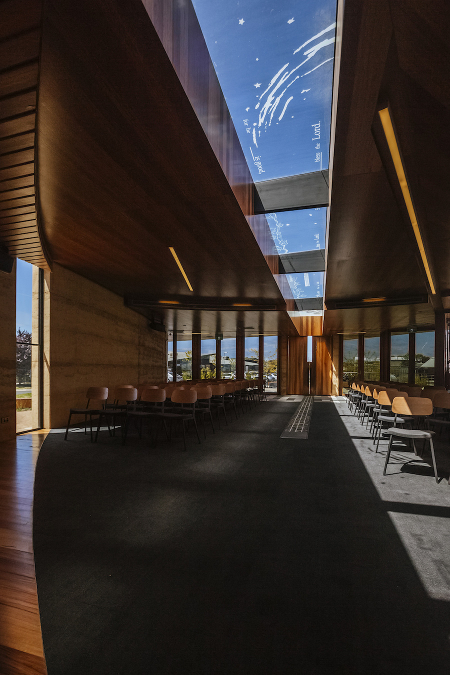 Inside Roof - Our Lady Of The Southern Cross Chapel - Branch Studio Architects - Collingwood & The Southern Cross Chapel by Branch Studio | Architecture Archive ... azcodes.com